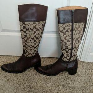 size 9 coach boots